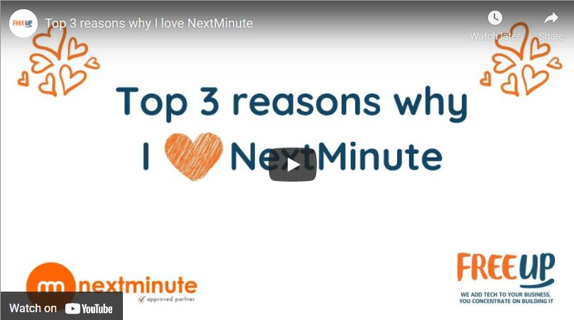 Top 3 reasons why I love NextMinute